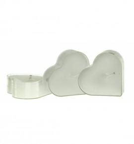 Serce Cotton Fresh 4szt. - podgrzewacze kształty zapachowe