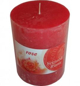 ROSE RUSTIC 70/90 - świeca zapachowa