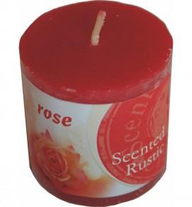 ROSE RUSTIC 50/50 - świeca zapachowa