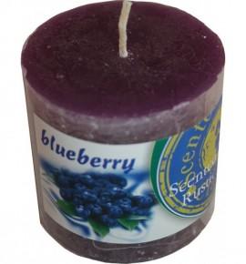 BLUEBERRY RUSTIC 50/50 - świeca zapachowa