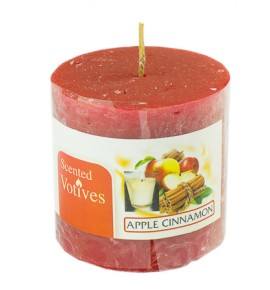 APPLE CINAMON RUSTIC 50/50 - świeca zapachowa
