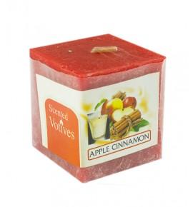 APPLE CINAMON RUSTIC 50/50/50 - świeca zapachowa