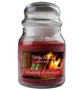 Moment of Pleasure - świeca zapachowa w średnim słoju 430g