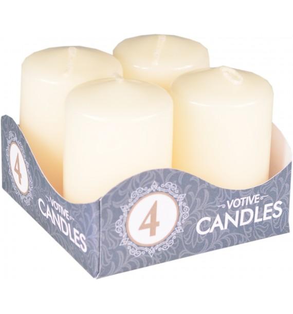 WALEC 40/60 ECRU - klasyczna świeca bezzapachowa