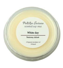 White day - wosk SOJOWY zapachowy 30g
