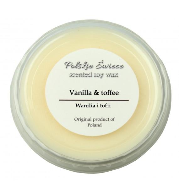 Vanilla & toffee - wosk SOJOWY zapachowy 30g