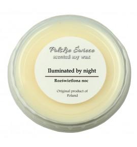 Iluminated by night - wosk SOJOWY zapachowy 30g