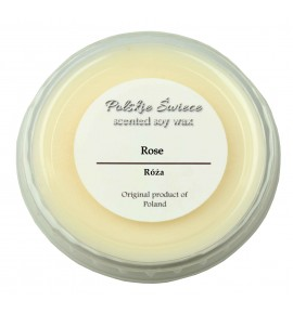 Rose - wosk SOJOWY zapachowy 30g