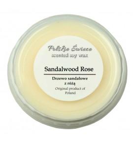 Sandalwood rose - wosk SOJOWY zapachowy 30g