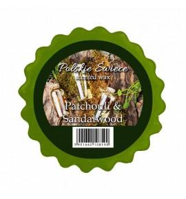 PATCHOULI SANDALWOOD - wosk zapachowy