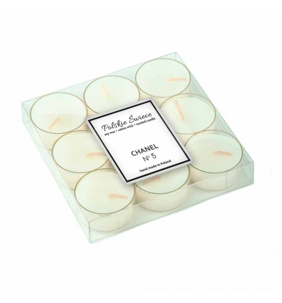 Chanel 5 - sojowe podgrzewacze zapachowe 9 szt.