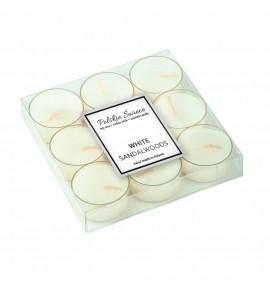 White Sandalwood - sojowe podgrzewacze zapachowe 9 szt.