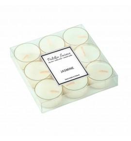 Jasmine- sojowe podgrzewacze zapachowe 9 szt.