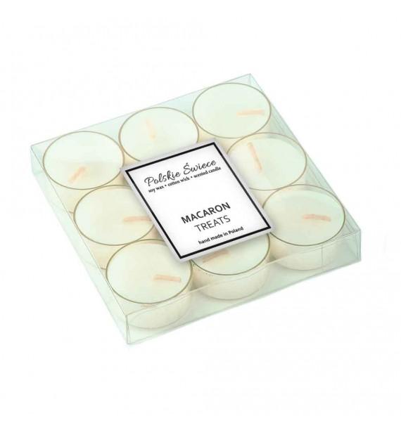 Macaron Treats - sojowe podgrzewacze zapachowe 9 szt.