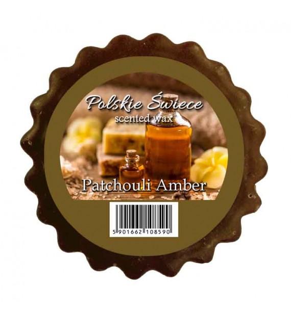 PATCHOULI AMBER - wosk zapachowy