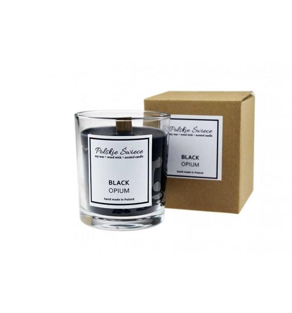 Black Opium - Sojowa Świeczka zapachowa w szkle