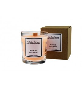 Mango Mandarine - Sojowa Świeczka zapachowa w szkle