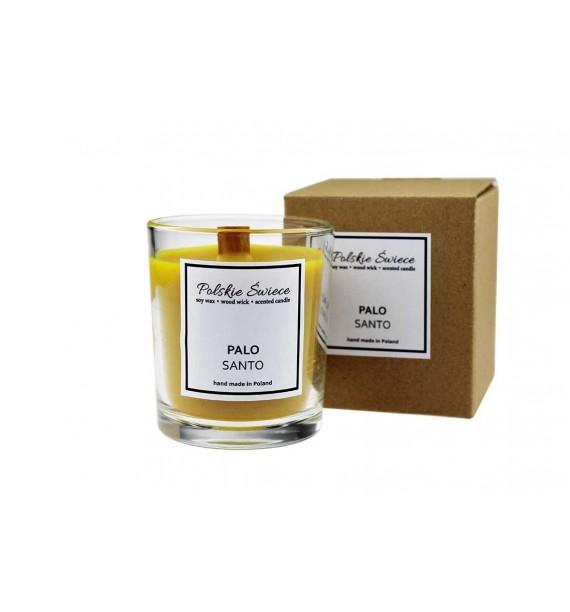 Palo Santo - Świeca zapachowa sojowa perfumowana