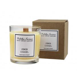 Coco Chanel Naturalna Świeca Zapachowa - drewniany knot