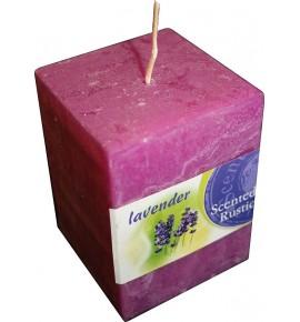 LAVENDER RUSTIC 65/65/90 - świeca zapachowa