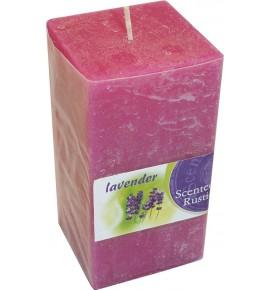 LAVENDER RUSTIC 65/65/130 - świeca zapachowa