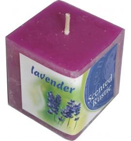 LAVENDER RUSTIC 50/50/50 - świeca zapachowa