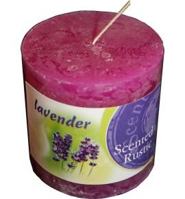 LAVENDER RUSTIC 60/60 - świeca zapachowa