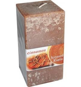 CINNAMON RUSTIC 65/65/130 - świeca zapachowa