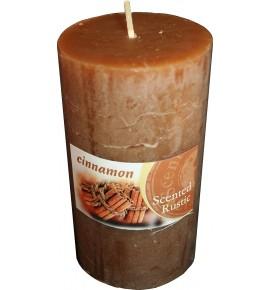 CINNAMON RUSTIC 70/130 - świeca zapachowa