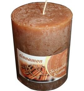 CINNAMON RUSTIC 70/90 - świeca zapachowa