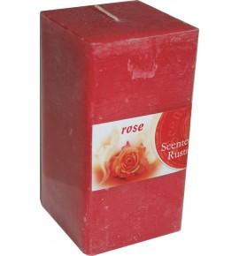 ROSE RUSTIC 65/65/130 - świeca zapachowa