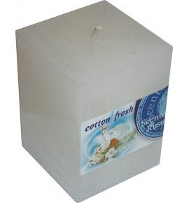 COTTON FRESH RUSTIC 65/65/90 - świeca zapachowa