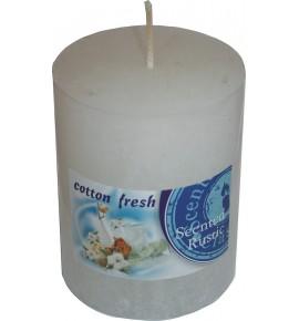COTTON FRESH RUSTIC 70/90 - świeca zapachowa