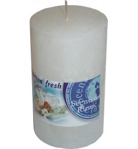 COTTON FRESH RUSTIC 60/100 - świeca zapachowa