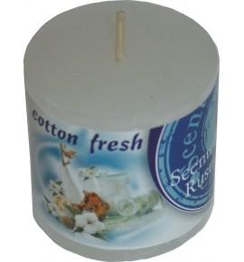 COTTON FRESH RUSTIC 50/50 - świeca zapachowa