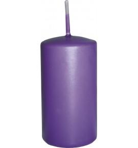 WALEC 50/90 FIOLET - klasyczna świeca bezzapachowa