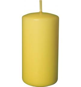 WALEC 50/90 ŻÓŁTY - klasyczna świeca bezzapachowa