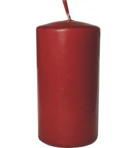 WALEC 50/90 BORDO - klasyczna świeca bezzapachowa