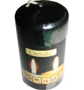 WALEC 50/90 CZERŃ - klasyczna świeca bezzapachowa