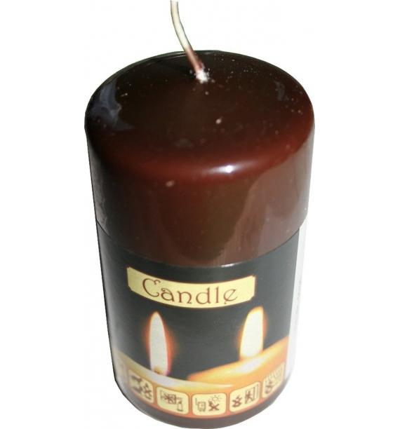 WALEC 50/90 CZEKOLADA - klasyczna świeca bezzapachowa