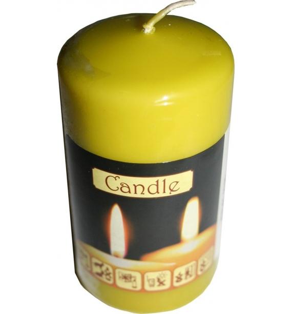 WALEC 50/90 OLIWKA - klasyczna świeca bezzapachowa