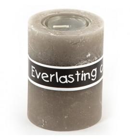 EVERLASTING 80/100 SZARY - świeca na podgrzewacze