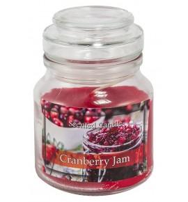 Cranberry Jam - świeca zapachowa w słoiczku