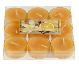 Orange & Vanilla - POMARAŃCZA WANILIA 9szt.- podgrzewacze zapachowe