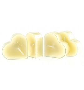 Serce Orange Peel 4szt. - podgrzewacze kształty zapachowe