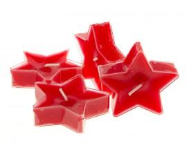 Gwiazdka Christmas Candy 4szt. - podgrzewacze kształty zapachowe