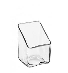 Świecznik 3768C - świecznik szklany