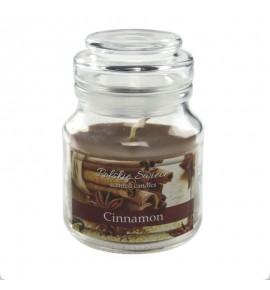 Cinnamon - świeca zapachowa w słoiczku