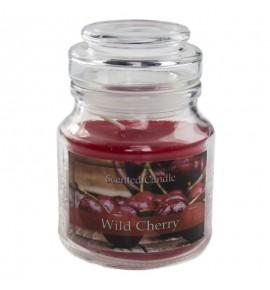 Cherry - świeca zapachowa w słoiczku