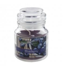 Blueberry - świeca zapachowa w słoiczku